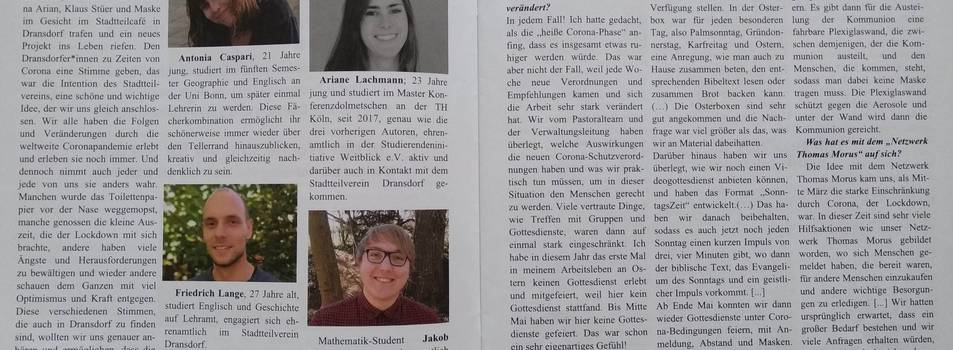 Interview-Projekt Dransdorf