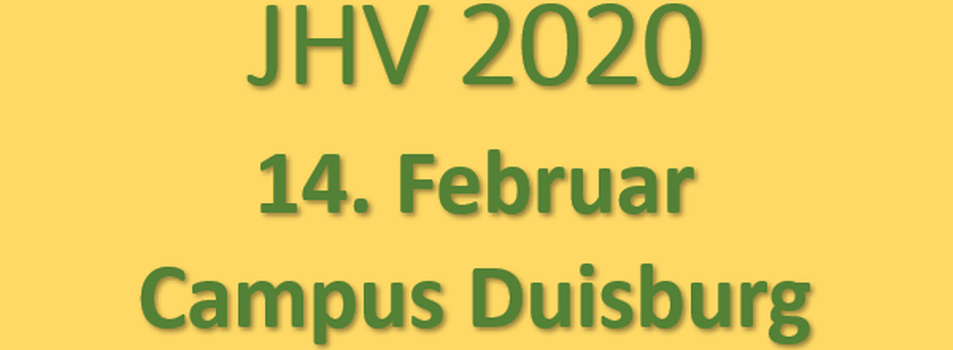 JHV 2020 UDE
