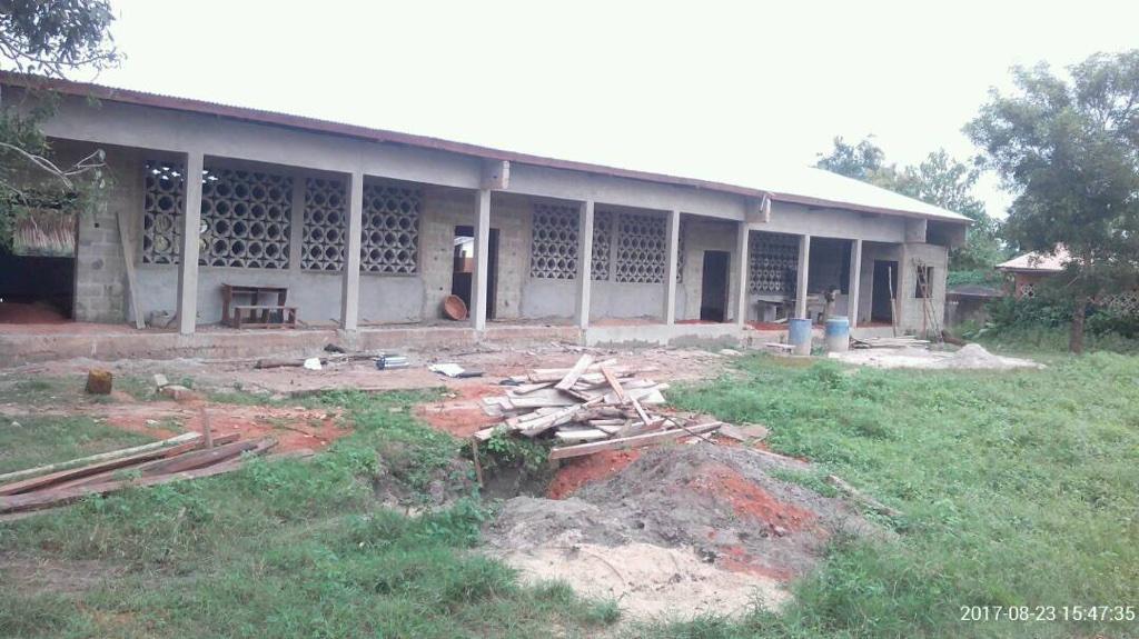 Grundschule im Bau: