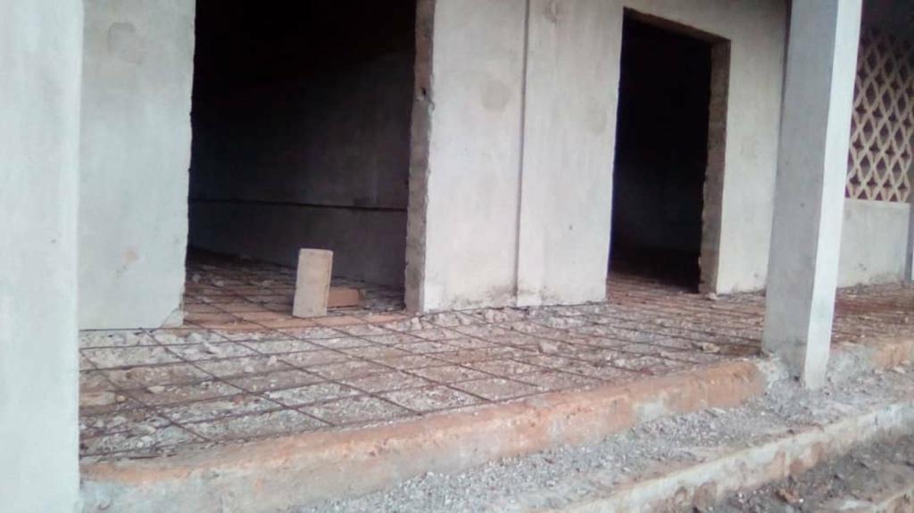 Die Vorschule im Bau: